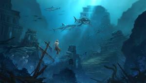 AC4 underwater fanart