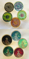 Hades and Persephone coins by sandara