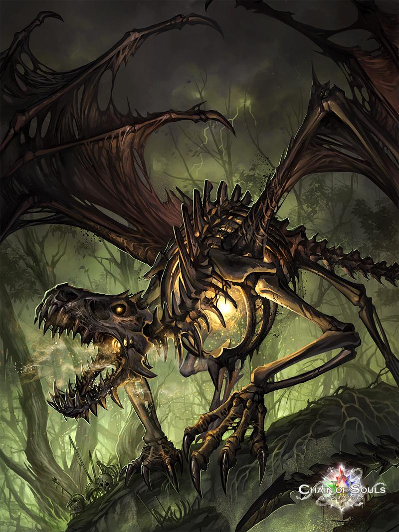 Bone Dragon by sandara on DeviantArt