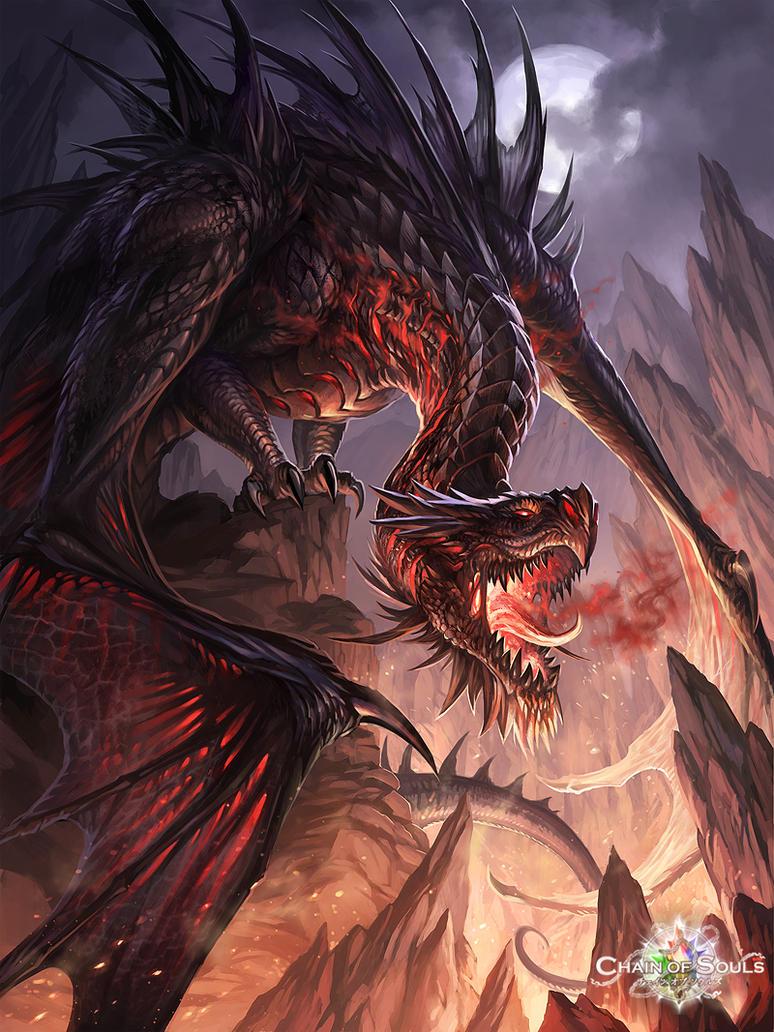 dark dragon by sandara