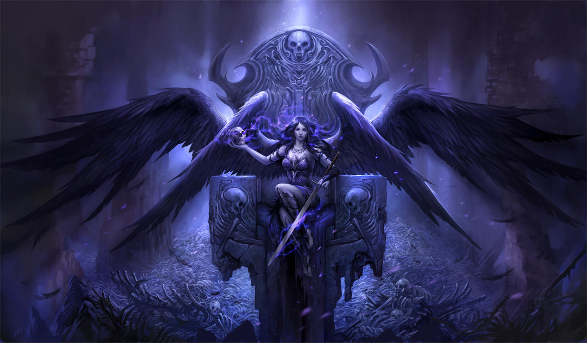 Black Angel By Sandara On Deviantart