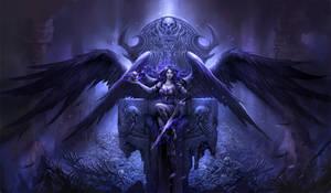 Black Angel by sandara