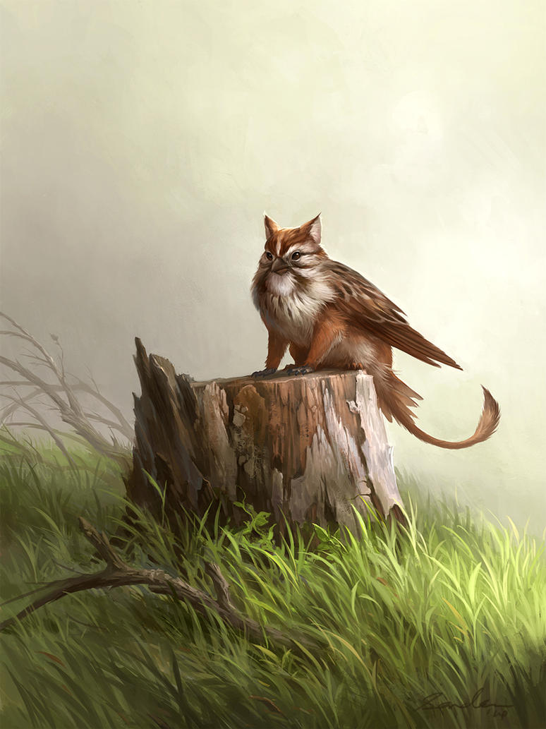Small griffin by sandara on deviantart for The griffin