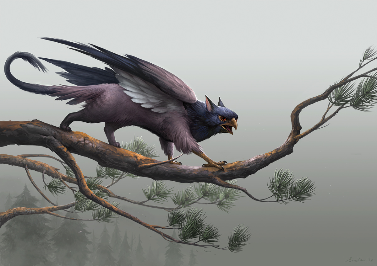 Small griffin 2 by sandara on deviantart for The griffin