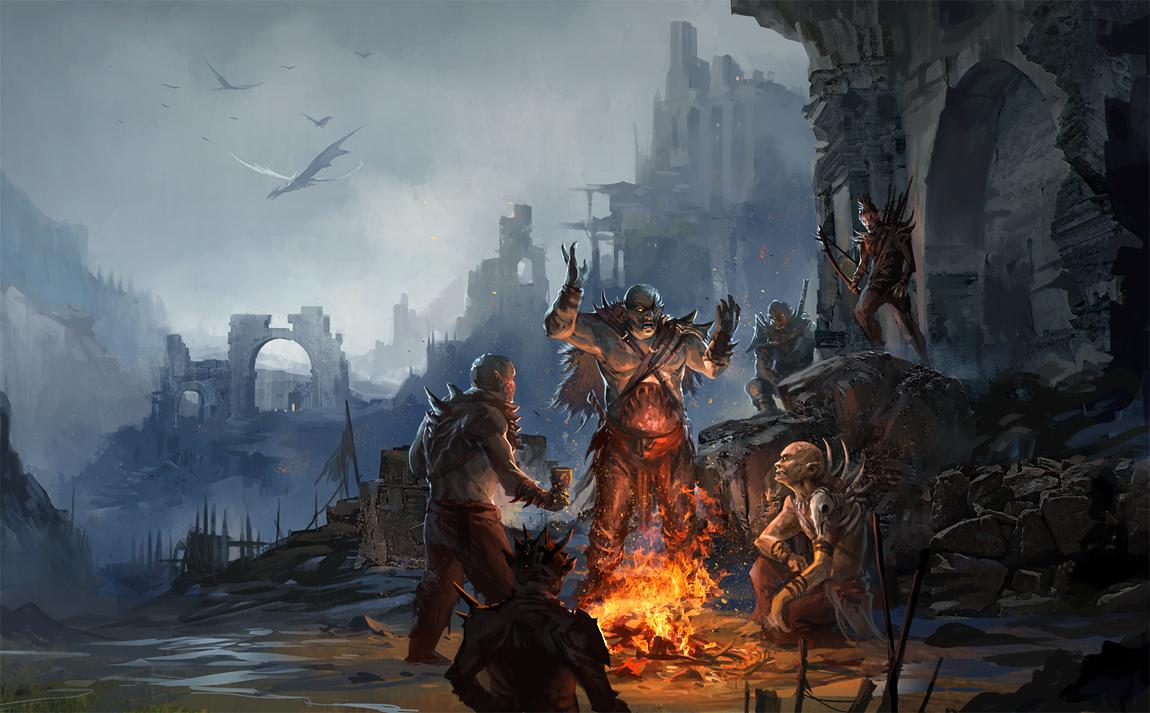 Orcs by sandara