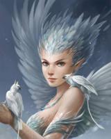 Snowy Harpy