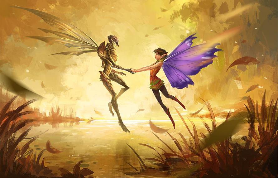 strange magic by sandara on deviantart