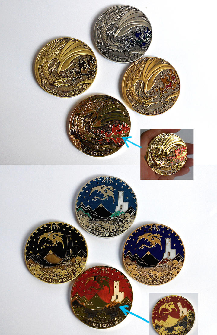 Dragon coins are up for sale by sandara