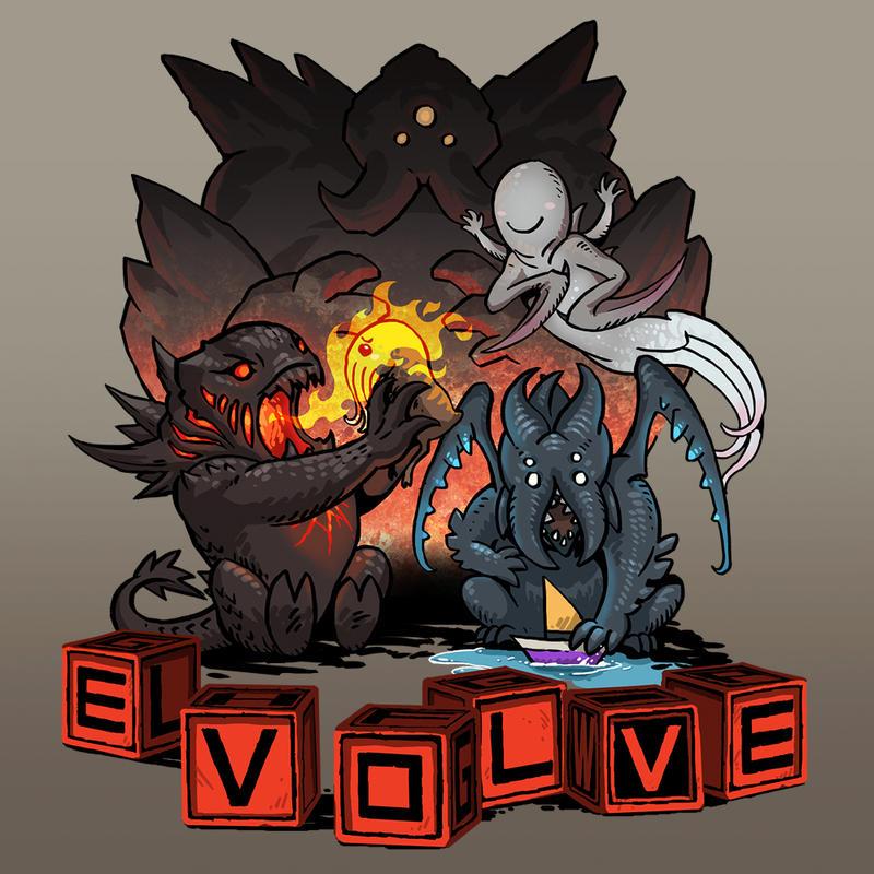 Evolve tshirt contest 1 by sandara