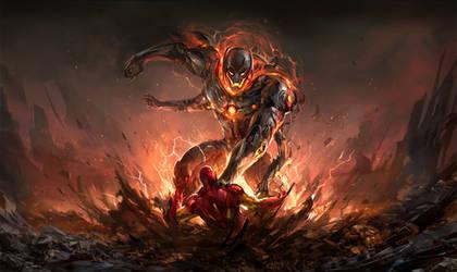monstrous child - Ultron by sandara
