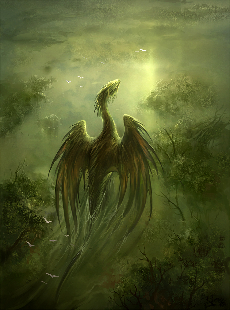 swamp dragon by sandara