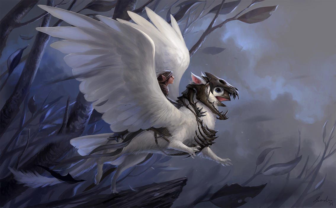 Shaman 39 s griffin by sandara on deviantart for The griffin