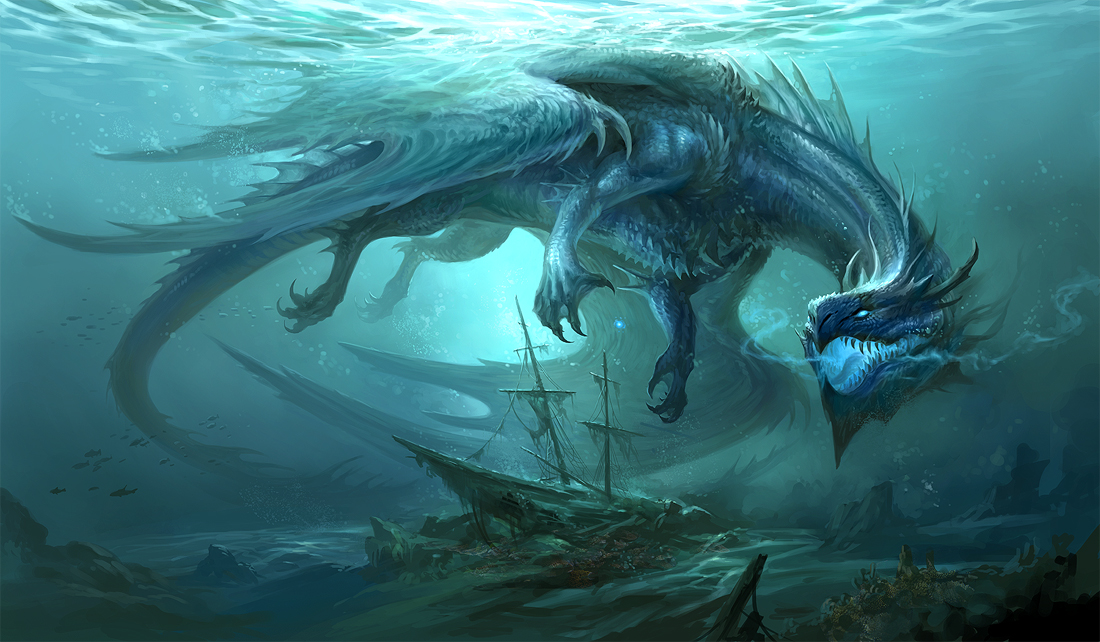 Blue Dragon v2 by sandara on DeviantArt