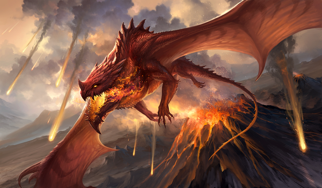 Red Dragon v2 by sandara on DeviantArt