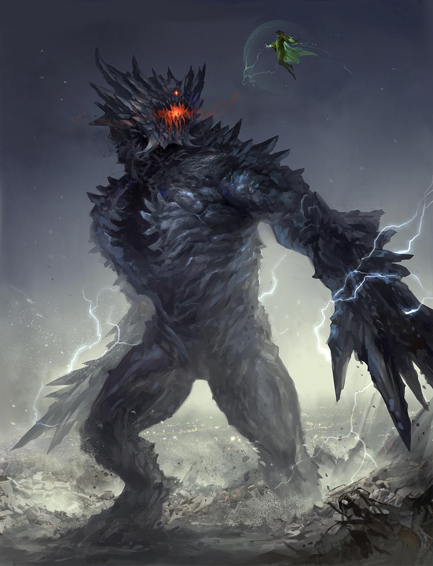 Worm - Endbringer Behemoth