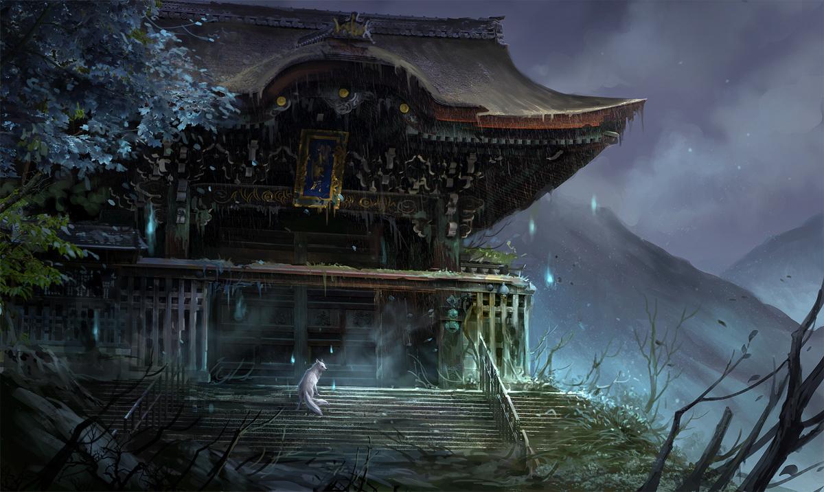 Old Temple By Sandara On Deviantart