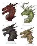 Dragon Busts