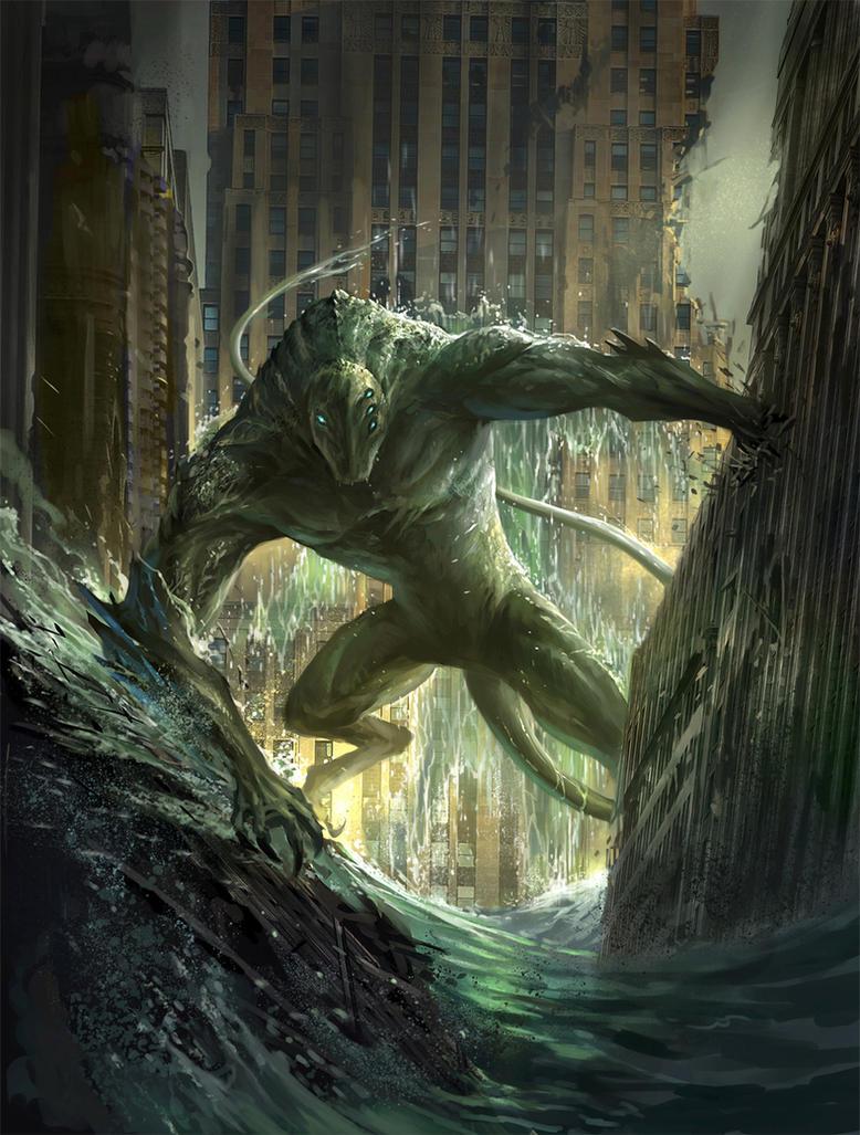 Worm - Endbringer Leviathan by sandara