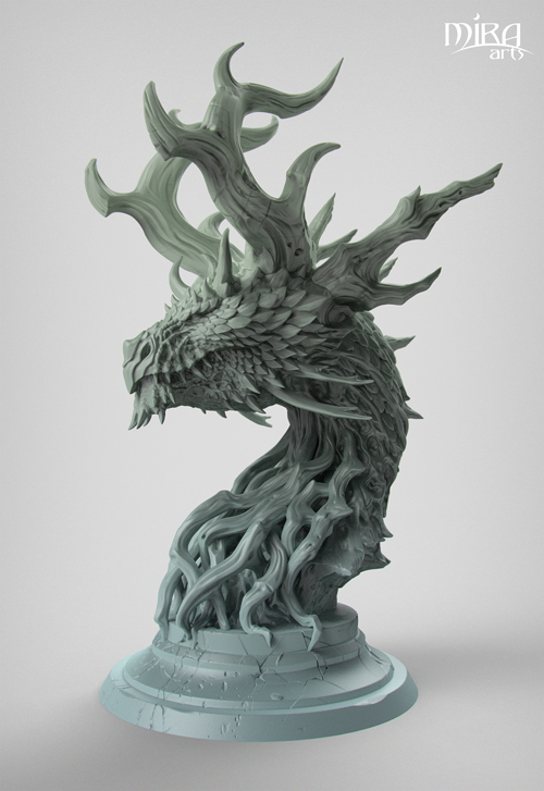 Forest Dragon Keyshot by sandara