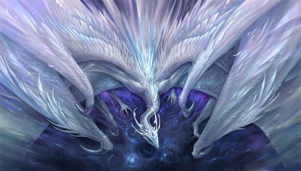 White Crystal Dragon