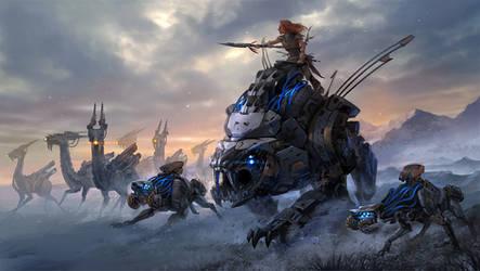 Machine Hunters by sandara