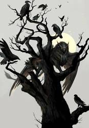 Tree by sandara