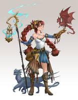 Dragon Charmer by sandara