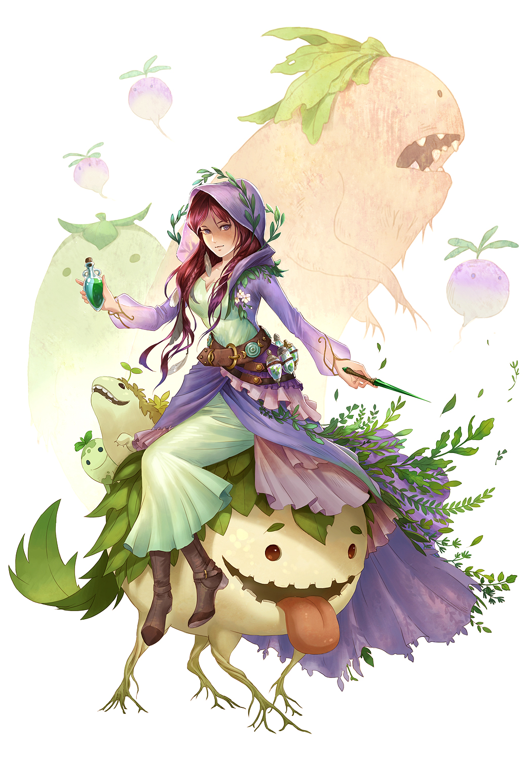 Hedge Witch by sandara