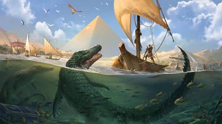 AC:Origins - Water Life