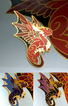 Dragon - enamel pin