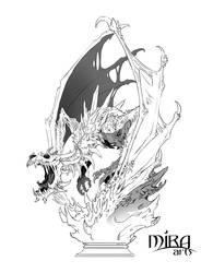 Naraka Dragon Clean Up by sandara