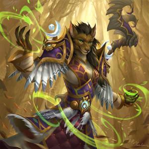 Worgen Druid