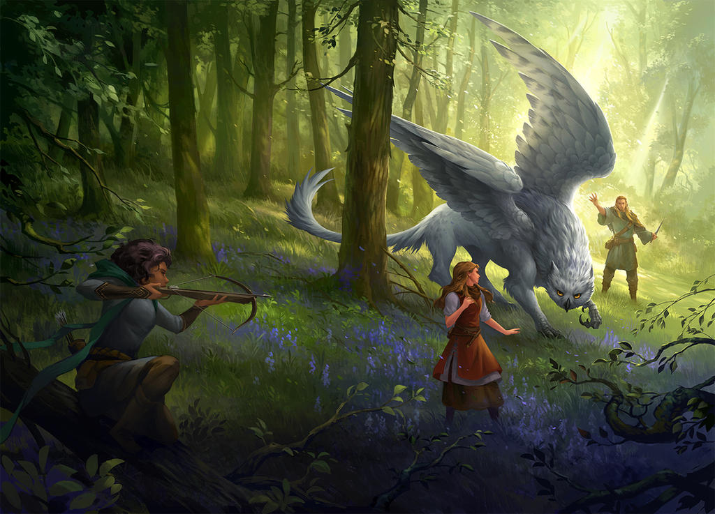 Cover art - Of Gryphons and other Monsters by sandara