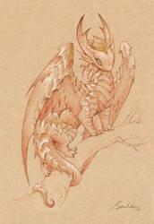 Paper Dragon 4 by sandara
