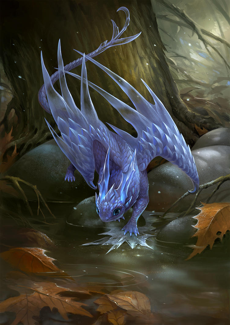 Frost Dragon: First Frost By Sandara On DeviantArt