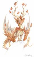 watercolor dragon 4 by sandara