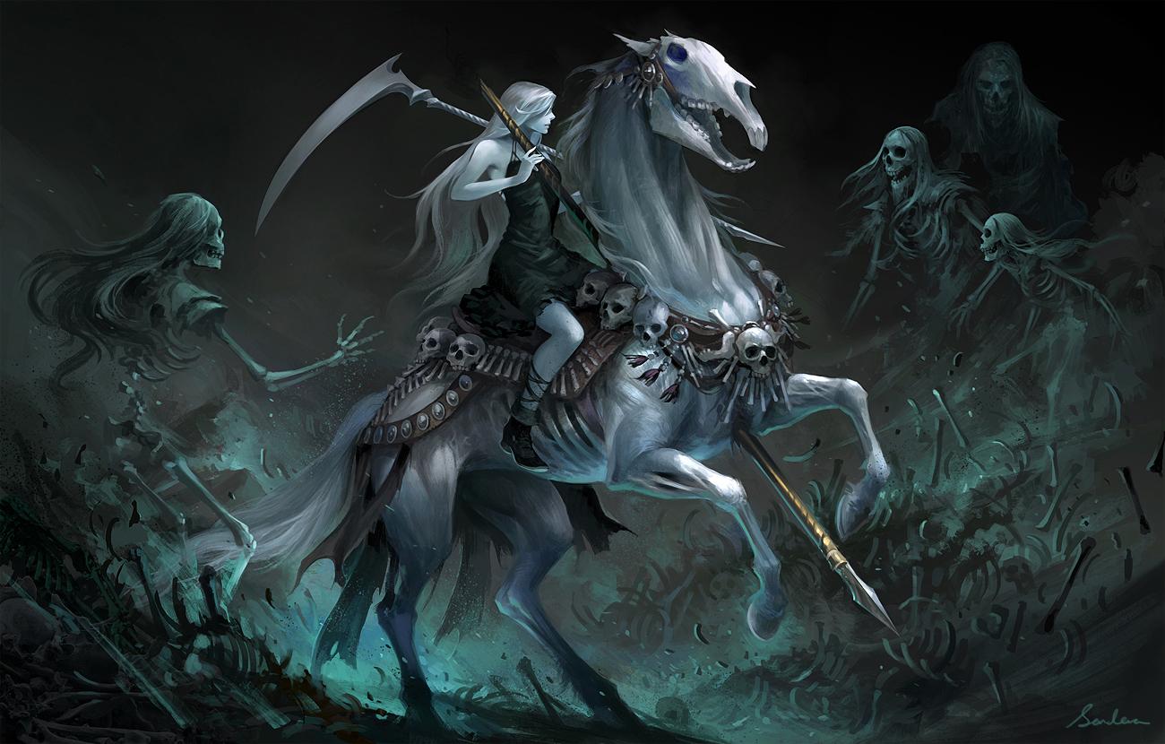 Death's Carousel by sandara
