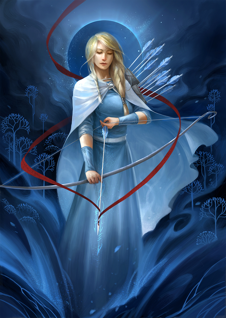 Banner Saga - Oddleif by sandara