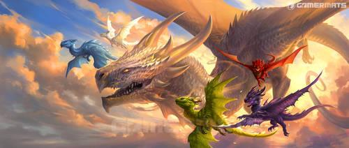 Baby Dragons 2 by sandara