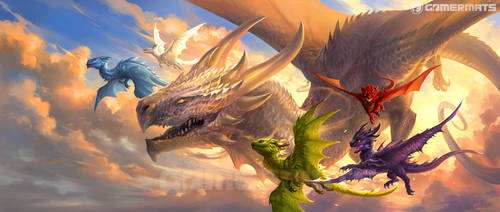 Baby Dragons 2 by sandara
