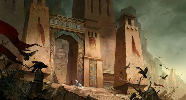 Abandoned City by sandara