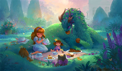 Tea Party by sandara
