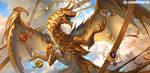 Elder Artifact Dragon by sandara