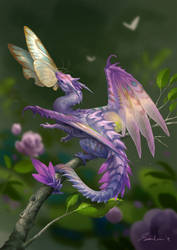 Flower Mantis Dragon by sandara