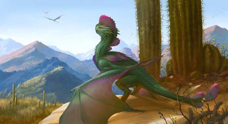 Cactus dragon