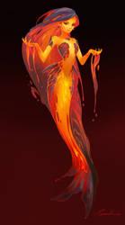 Lava Mermaid