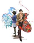 Yakuza 0 - Majima and Makoto