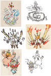 Okami-inspired monsters