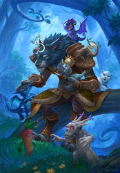 Worgen and pets