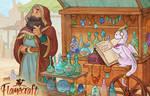 Flamecraft - Crystalware stall